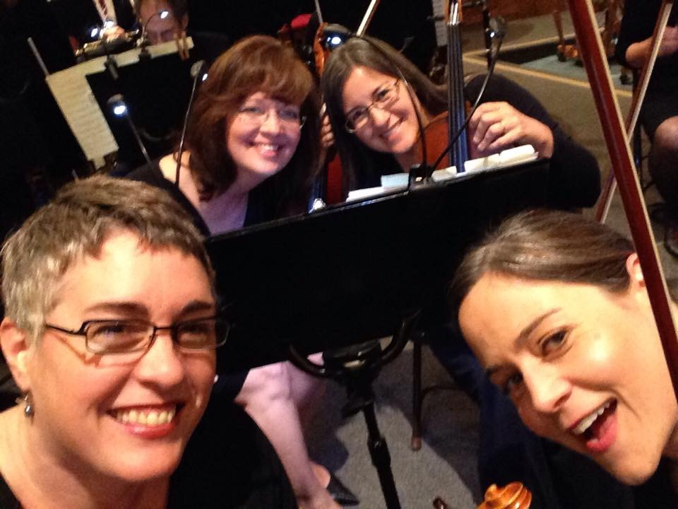 Meghan with Mill Valley Philharmonic Orchestra