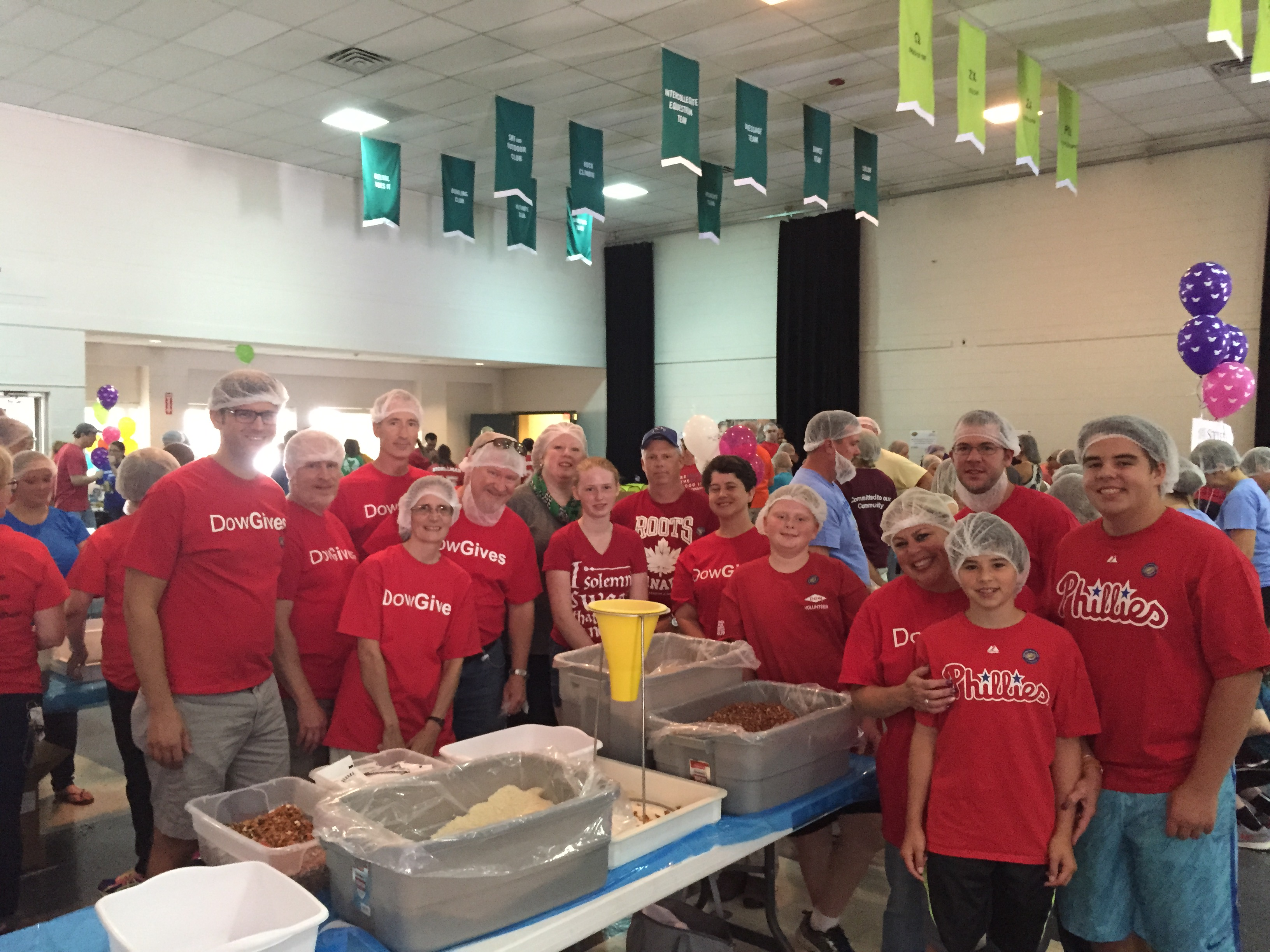 3rd Quarter 2015 BKO hunger event