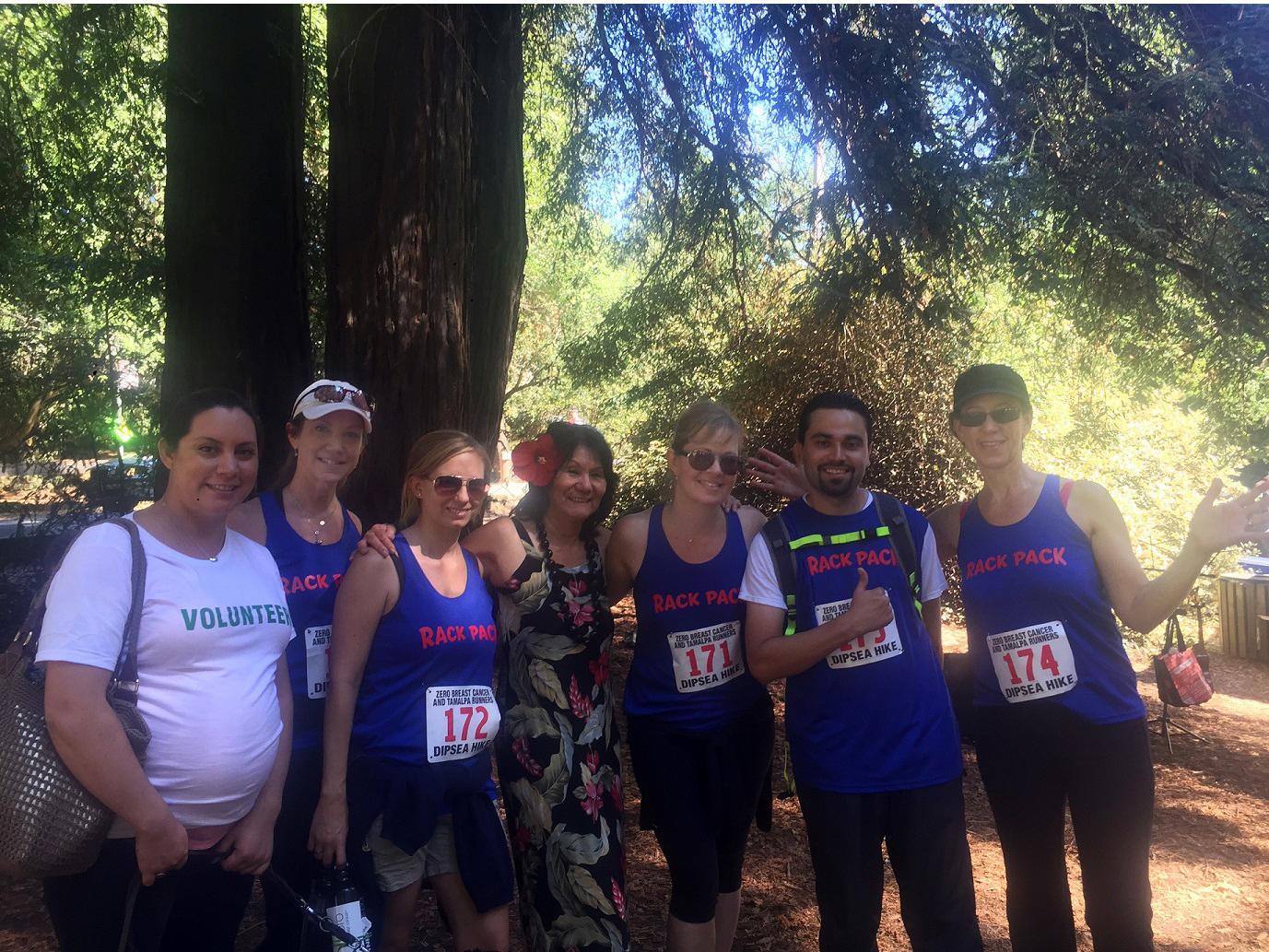 3rd Quarter 2015 Zero-Breast-Cancer-Dipsea-Hike-Team-Photo-2015