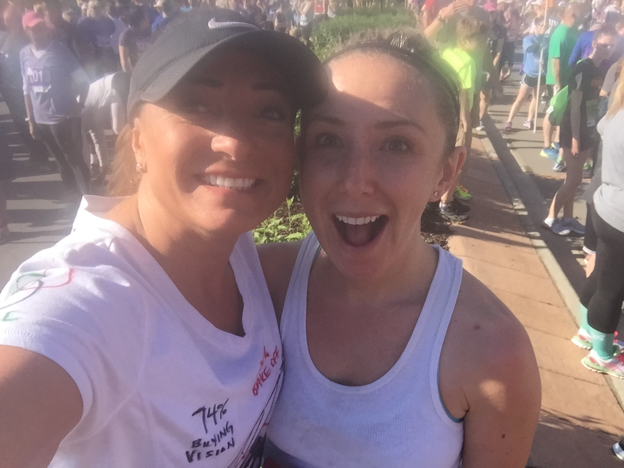 Wendy Brache and Jeannie Clidence in Colorado Advocate for Children Run!