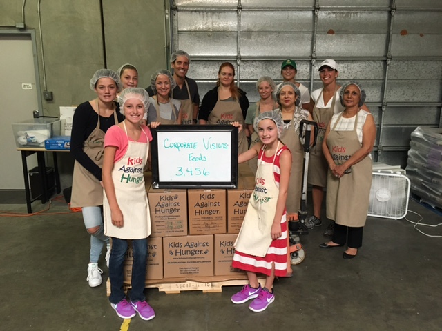 Kids Against Hunger Pleasanton Aug 18-2016