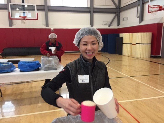 1st Quarter 2017 KAH Sat. March 18 Teresa packing meals