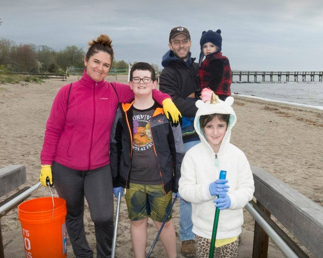 2nd Quarter 2017 Frison Family Beach Clean Up May 6-2017