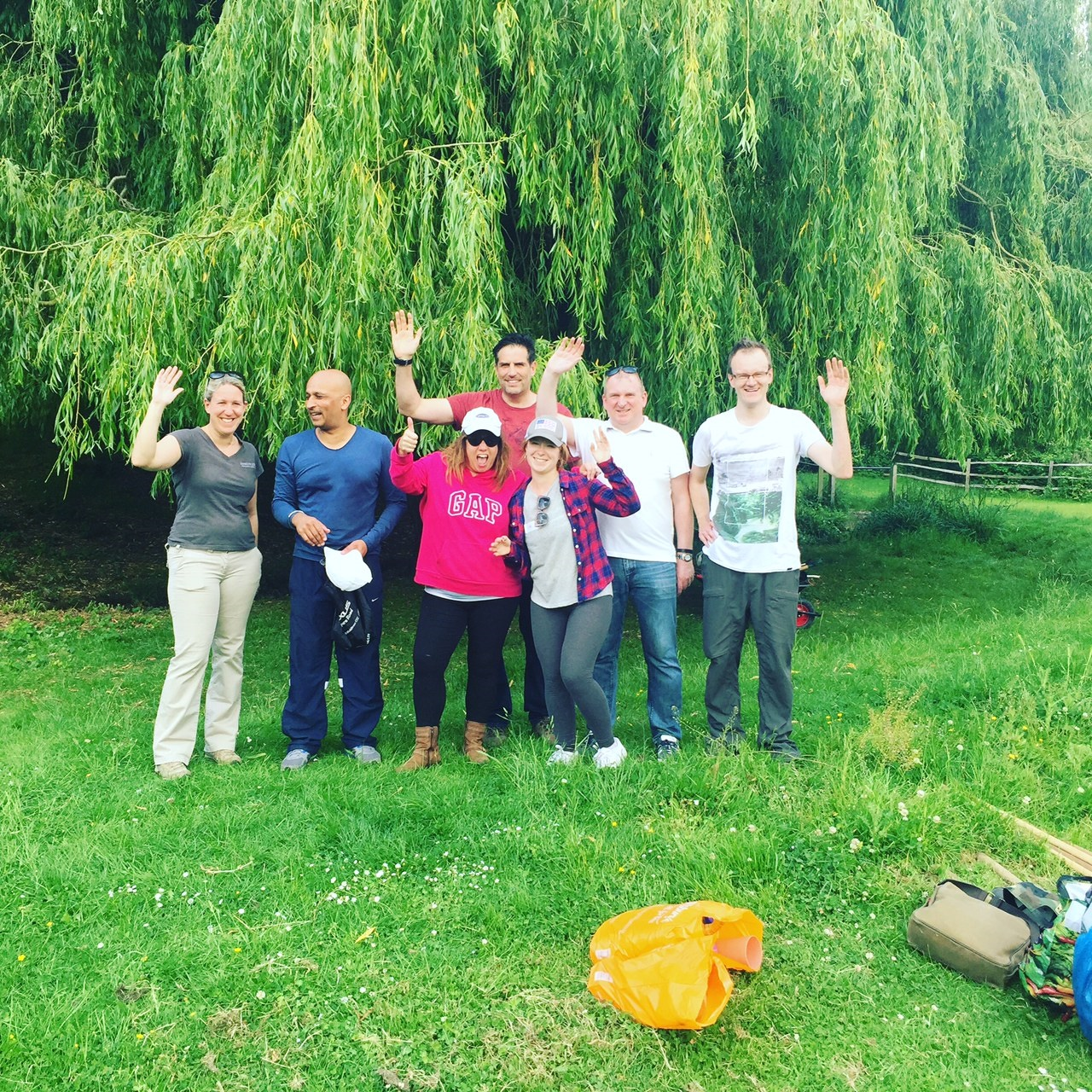 2nd Quarter UK Fish Pond team photo 1 May 24 2017