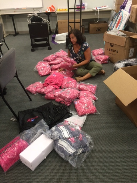 3rd Quarter Diane Sorting Clothes American Cancer Society July 28-2017
