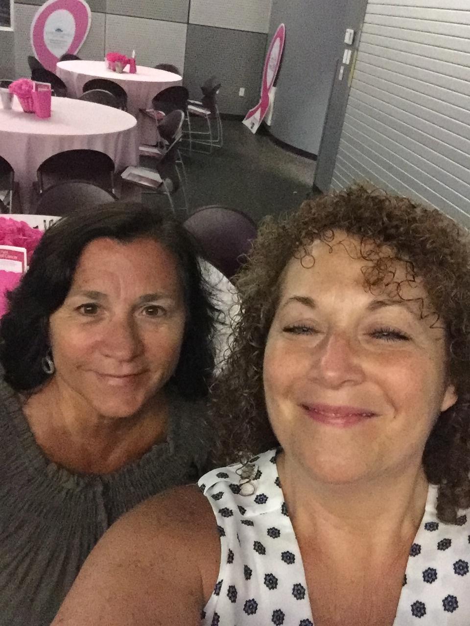 3rd Quarter 2017 Diane and Lisa Making Strides for Cancer
