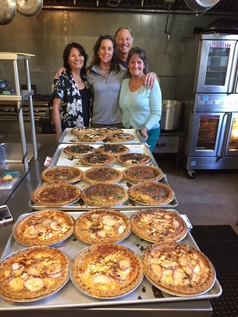 4th Quarter 2017 20 quiche for Santa Rosa Victims and first responders 10-14-2017