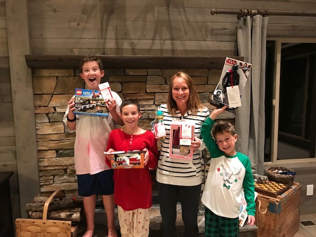 Incline Angel Tree Gift Giving 2017 - McMahan Family
